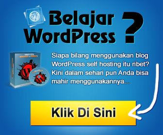 video panduan wordpress