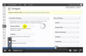 Cara Setting Widget WordPress