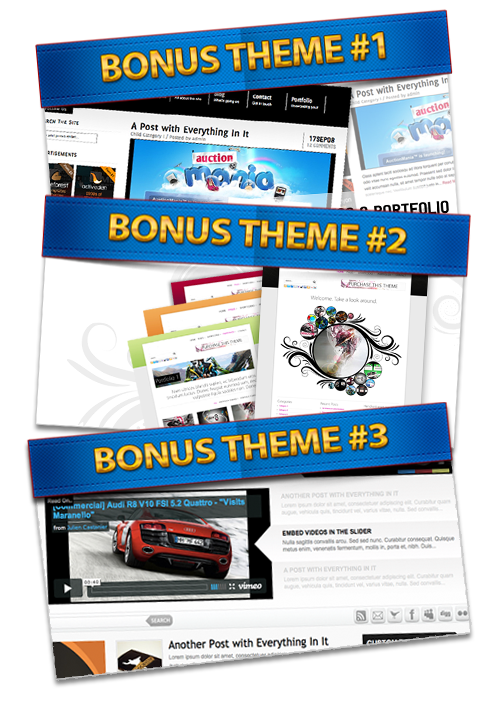 Theme Premium WordPress Gratis